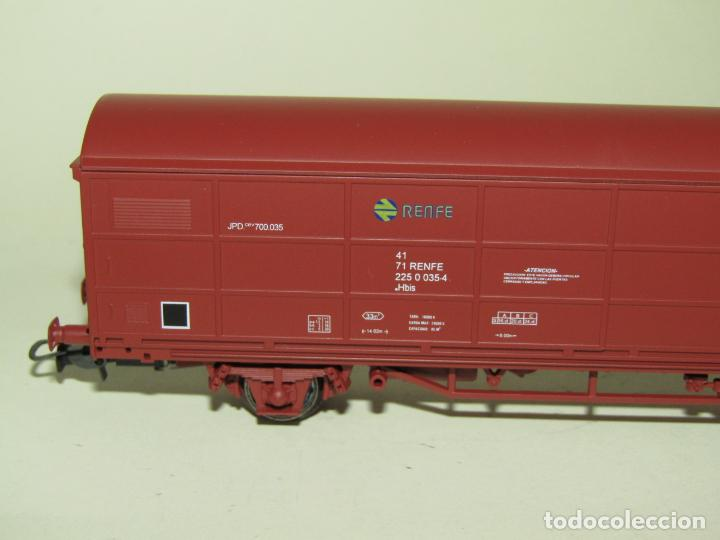 Trenes Escala: Vagón Cerrado JPD RENFE Época 4 en Escala *H0* Ref. 1751K de ELECTROTREN - Foto 3 - 257528790