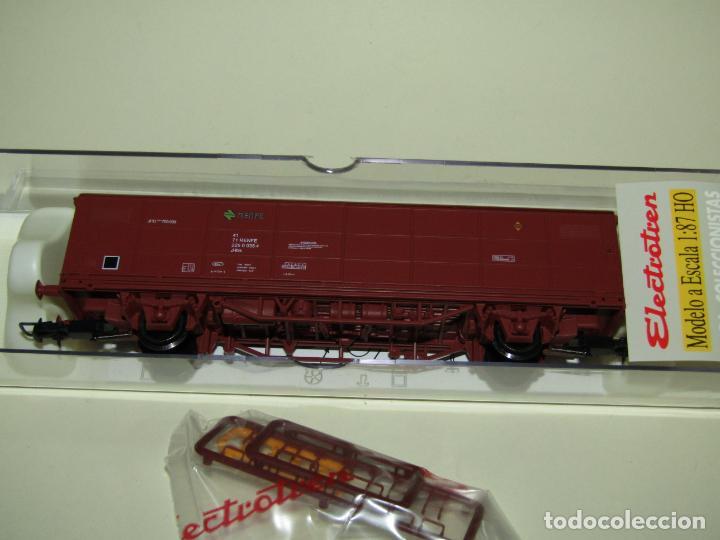 VAGÓN CERRADO JPD RENFE ÉPOCA 4 EN ESCALA *H0* REF. 1751K DE ELECTROTREN (Juguetes - Trenes Escala H0 - Electrotren)