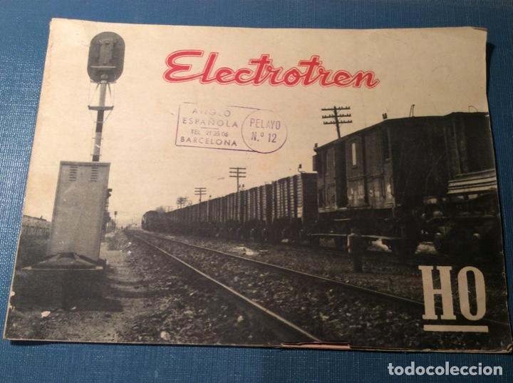 CATÁLOGO DE ELECTROTREN. AÑO 1958 (Juguetes - Trenes Escala H0 - Electrotren)