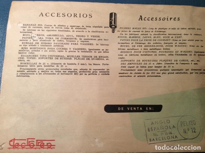 Trenes Escala: Catálogo de Electrotren. Año 1958 - Foto 2 - 257805750