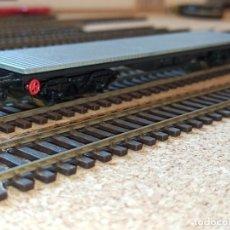 Trenes Escala: VAGON PLATAFORMA 4 EJES ELECTROTREN REF.5120 GRIS H0. Lote 258027570