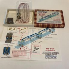 Trenes Escala: SYSPEND ILUMINACION ELECTROTREN 5 COCHES. Lote 258177460