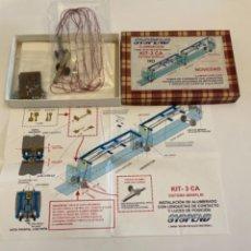 Trenes Escala: SYSPEND ILUMINACION ELECTROTREN 5 COCHES. Lote 258177650