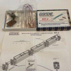 Trenes Escala: SYSPEND ILUMINACION ELECTROTREN 5 COCHES. Lote 258178360