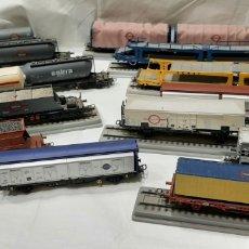 Trenes Escala: ELETROTREN TRANSFESA, LOTE DE 14 VAGONES. VER FOTOS. Lote 261363930
