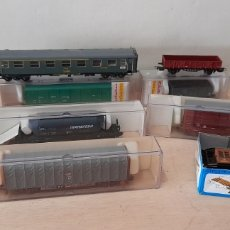 Trenes Escala: LOTAZO ELECTRO TREN COMO NUEVOS. Lote 262531240