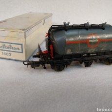 Trenes Escala: VAGÓN ELECTROTREN H0, TRANSFESA 1402. Lote 262625985