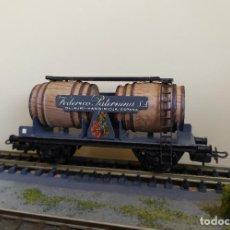 Trenes Escala: ELECTROTREN H0 VAGÓN-CUBAS DE FEDERICO PATERNINA S.A. REFERENCIA 0800.. Lote 263079045
