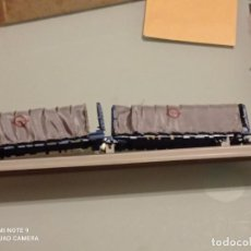 Trenes Escala: DOS VAGONES ELECTROTREN TOLDOS TRANSFESA. Lote 263797055