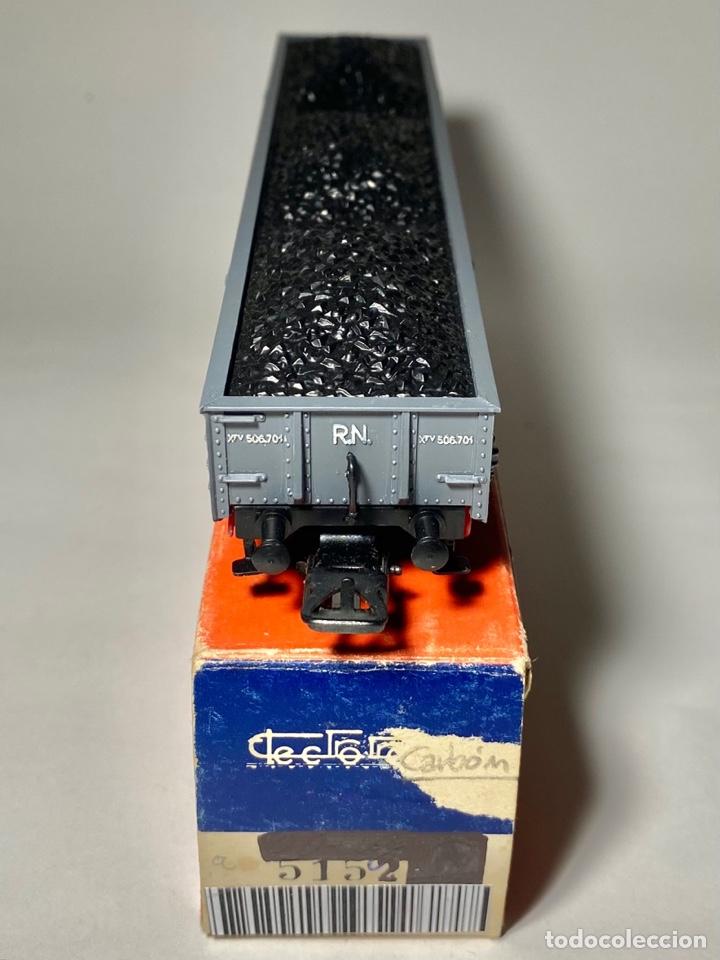 Trenes Escala: Electrotren 5152 Vagón Renfe con carga de carbón a - Foto 2 - 264264100