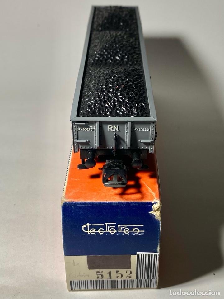 Trenes Escala: Electrotren 5152 Vagón Renfe con carga de carbón b - Foto 2 - 264264868