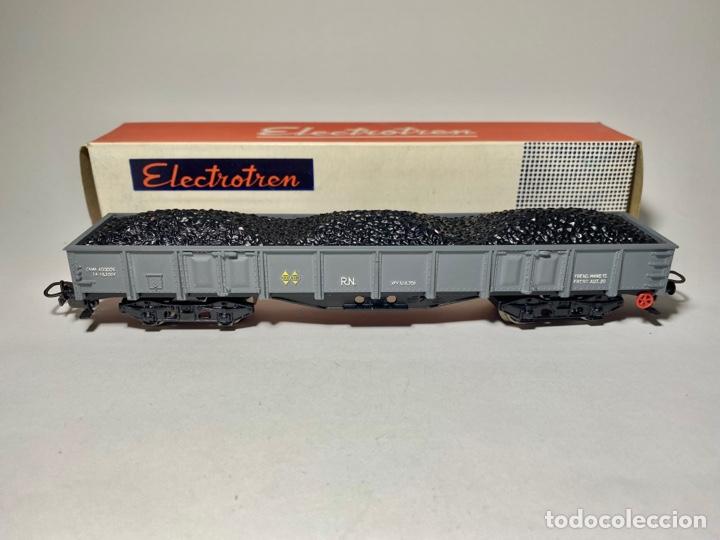Trenes Escala: Electrotren 5152 Vagón Renfe con carga de carbón b - Foto 3 - 264264868