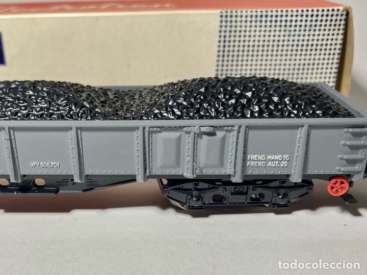 Trenes Escala: Electrotren 5152 Vagón Renfe con carga de carbón b - Foto 4 - 264264868