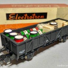 Trenes Escala: ELECTROTREN 1108 VAGÓN ABIERTO CON MERCANCÍAS DIVERSAS. Lote 265177744