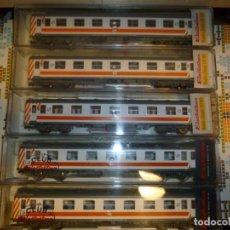 Trenes Escala: PACK COCHES 6000 REGIONALES RENFE DESCATALOGADOS, DIFÍCILES DE CONSEGUIR. Lote 265917148
