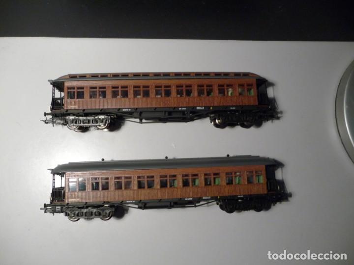 "PACK 2 COCHES ""COSTA"" 2ª CLASE RENFE SERIE ESPECIAL ALTAYA ELECTROTREN (Juguetes - Trenes Escala H0 - Electrotren)"