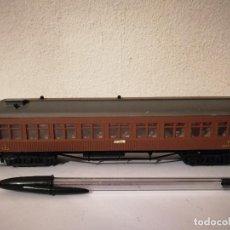 Trenes Escala: COCHE PASAJEROS ELECTROTREN - ESCALA H0 - SITGES ESPAÑA - TREN MZA. Lote 267297724