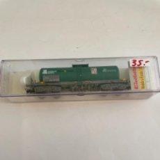 Trenes Escala: ELECTROTREN. HO REF 5814K CISTERNA CARGAS RENFE BOGIES. Lote 267652149
