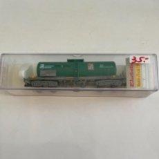 Trenes Escala: ELECTROTREN. HO REF 5814K CISTERNA CARGAS RENFE BOGIES. Lote 267652314