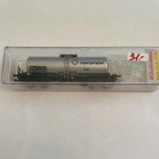 Trenes Escala: ELECTROTREN. HO REF 5801K CISTERNA BOGIES TRANSFESA. Lote 267657819
