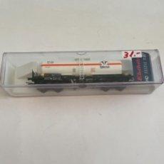Trenes Escala: ELECTROTREN. HO REF 5864K CISTERNA BOGIES TAFESA. Lote 267658134