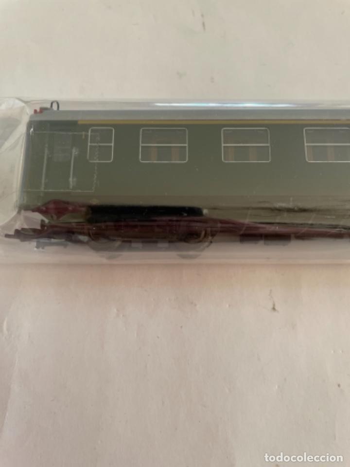 Trenes Escala: ELECTROTREN. HO. COCHE 5000 MIXTO VERDE - Foto 3 - 268301124