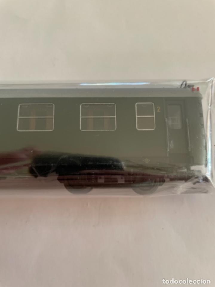 Trenes Escala: ELECTROTREN. HO. COCHE 5000 MIXTO VERDE - Foto 4 - 268301124