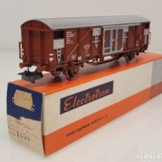 """Trenes Escala: ELECTROTREN H0 1450- VAGÓN CERRADO GRAN CAPACIDAD """"TRANSFESA"""" SNCF. Lote 269261868"""