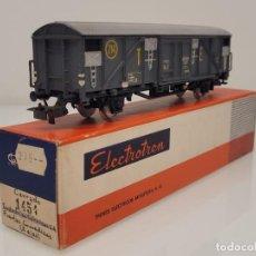 Trenes Escala: ELECTROTREN H0 1454- VAGÓN CERRADO GRAN CAPACIDAD T.E RENFE. Lote 269264878