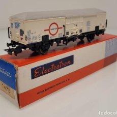 """Trenes Escala: ELECTROTREN H0 1470- VAGÓN FRIGORÍFICO """"TRANSFESA"""" FS. Lote 269268228"""