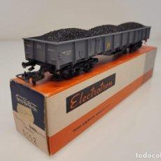 Trenes Escala: ELECTROTREN H0 5152- VAGÓN MERCANCÍAS BORDES ALTOS CON CARBÓN RENFE. Lote 269275153