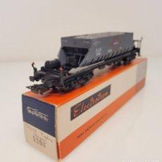 "Trenes Escala: ELECTROTREN H0 5200- VAGÓN MERCANCÍAS TOLVA ""TRANSFESA"" RENFE. Lote 269275528"