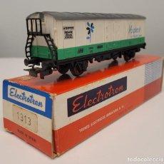 """Trenes Escala: ELECTROTREN H0 1313- VAGÓN FRIGORÍFICO """"YOPLAIT"""" RENFE. Lote 270124958"""