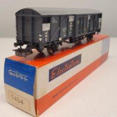 Trenes Escala: ELECTROTREN H0 1454- VAGÓN CERRADO CON GRAN CAPACIDAD RENFE. Lote 270136663