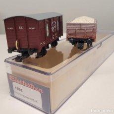 Trenes Escala: ELECTROTREN H0 1986- CONJUNTO VAGONES DE MABAR RENFE NUEVO. Lote 270137618