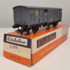 Trenes Escala: ELECTROTREN H0 1309- VAGÓN CERRADO R.N 110 GRIS, RENFE. Lote 270207753