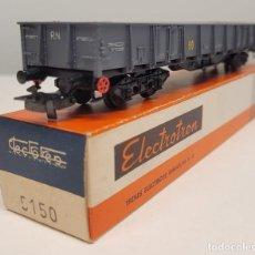 "Trenes Escala: ELECTROTREN H0 5150- VAGÓN BORDES ALTOS ""RENFE"", RENFE. Lote 270208043"
