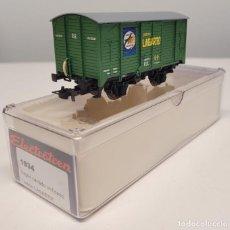 """Trenes Escala: ELECTROTREN H0 1934- VAGÓN CERRADO UNIFICADO """"JABÓN LAGARTO"""" , RENFE. Lote 270209978"""