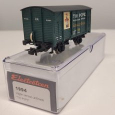 """Trenes Escala: ELECTROTREN H0 1994- VAGÓN CERRADO UNIFICADO """"TÍO PEPE"""" , RENFE. Lote 270210093"""