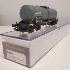 "Trenes Escala: ELECTROTREN H0 5829- VAGÓN CISTERNA ""MILLET"" , SNCF. Lote 270211918"