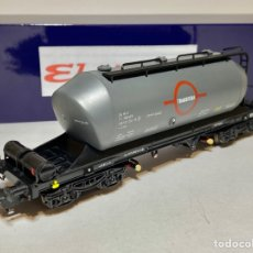 Trenes Escala: ELECTROTREN VAGÓN TOLVA CEMENTO TRANSFESA. Lote 270943978