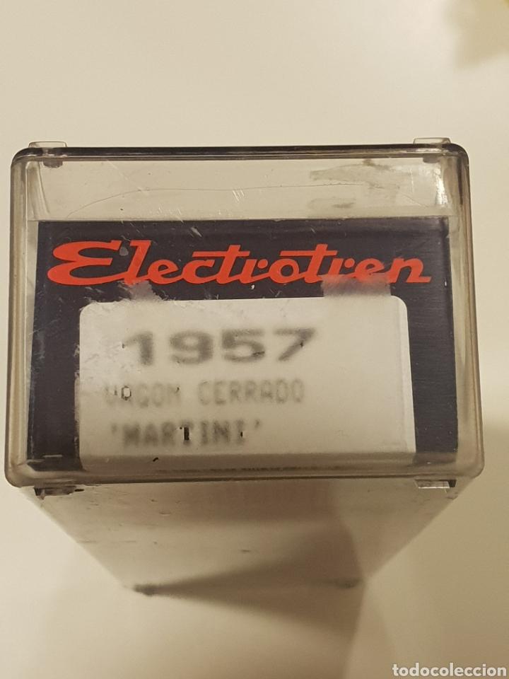 Trenes Escala: ELECTEOTREN H0 VAGON CERRADO MARTINI . REF 1957 - Foto 2 - 274930228