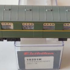 Trenes Escala: ELECTROTREN COCHE PASAJEROS REF: 18251 CON LUZ INTERIOR. Lote 278533728