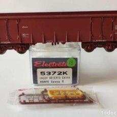 Comboios Escala: ELECTROTREN VAGON ABIERTO EALOS RENFE REF: 5372 ESCALA H0. Lote 278800698
