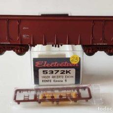 Comboios Escala: ELECTROTREN VAGON ABIERTO EALOS RENFE REF: 5372 ESCALA H0. Lote 278801588