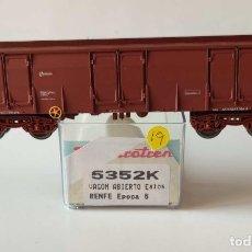 Comboios Escala: ELECTROTREN VAGON ABIERTO EALOS RENFE REF: 5352 ESCALA H0. Lote 278801828