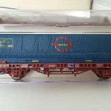 """Trenes Escala: ELECTROTREN VAGÓN CONTENEDOR """"TRANSFESA"""" H0. REF.1441K. NUEVO.. Lote 278818933"""