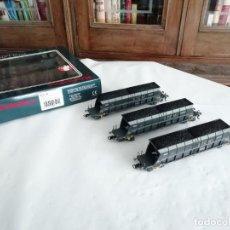 Trenes Escala: ELECTROTREN H0 6517K SET 3 VAGONES TOLVA STEMI SGW SNCF NUEVO NEW OVP. Lote 284318063