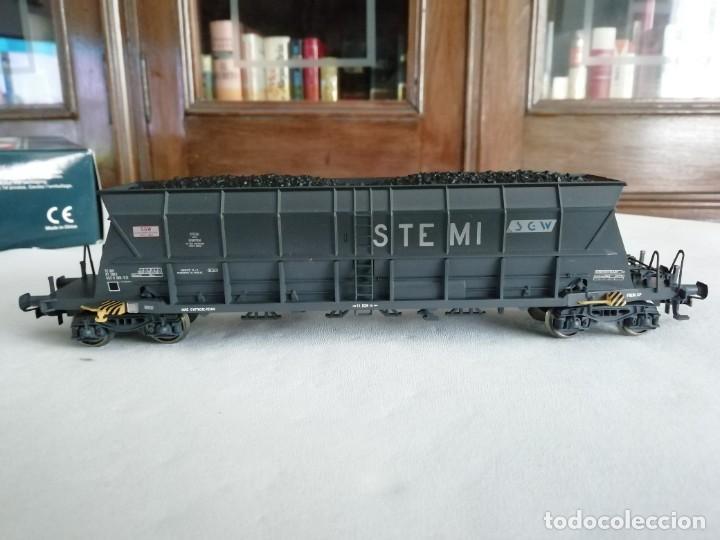 Trenes Escala: Electrotren H0 6517K Set 3 Vagones Tolva STEMI SGW SNCF Nuevo New OVP - Foto 2 - 284318063