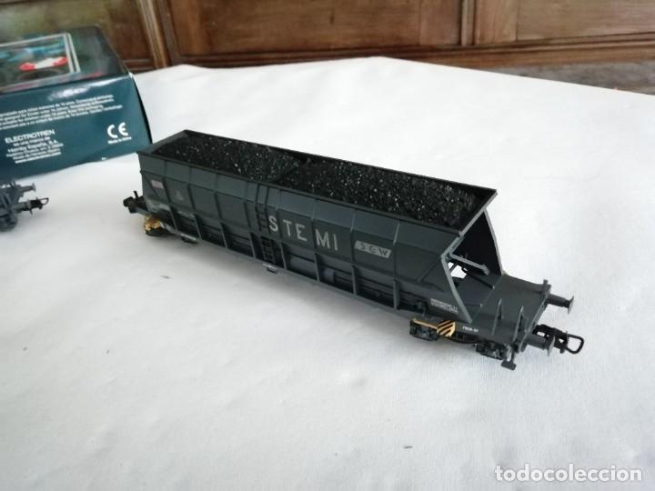 Trenes Escala: Electrotren H0 6517K Set 3 Vagones Tolva STEMI SGW SNCF Nuevo New OVP - Foto 4 - 284318063